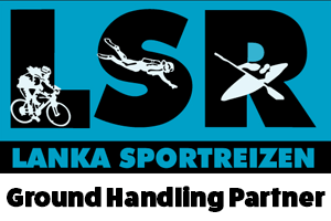 Logo for Lanka Sportreizen, our ground handling partner