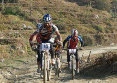 Himalayan foothills close to Nuwakot