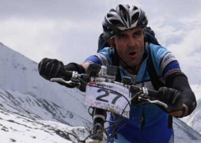Aussie Steve on the way to Phedi, Annapurna circuit, Nepal. Yak Attack
