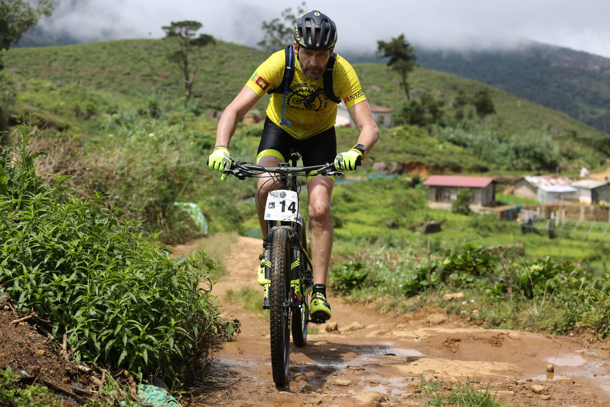 Ivan Brown on off road trails in Sri Lanka