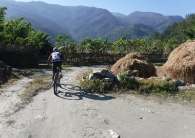 On the road - Pokhara Trails