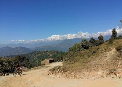 Hot climbs and snowy mountains, Pokhara
