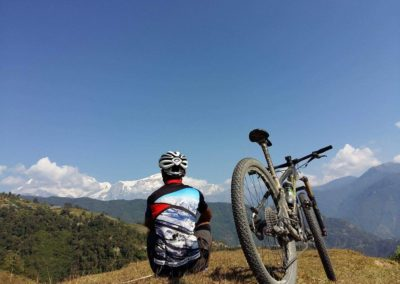 There's plenty of time for reflection in the Pokhara hills