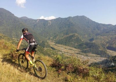Climbing up to Kristi Hill, Pokhara