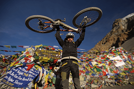 Camp X, Lower Mustang - Mountain Bike Holiday, guided tour in the Himalayas