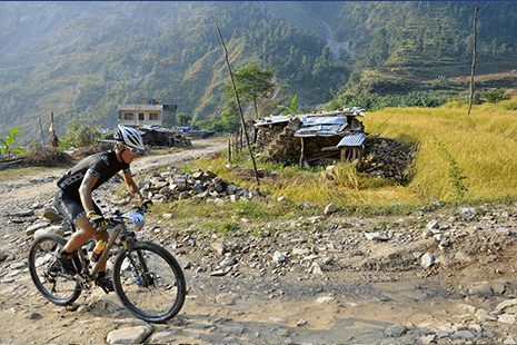 The Foothills- Kathmandu to Pokhara - Mountain Bike Holiday in Nepal, Himalayas