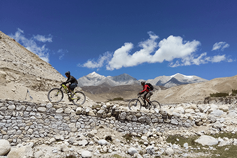 The Forbidden Kingdom, Upper Mustang - Mountain Bike Holiday in Nepal, Himalayas
