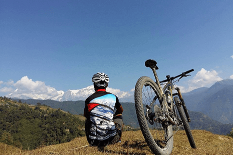 Pokhara Trails, Lakeside, Pokhara - Mountain Bike Touring Holiday in Nepal in the Himalayas