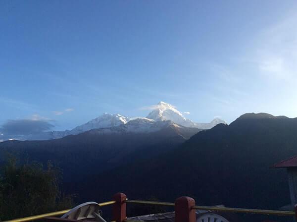 Poon hill sun rise. Annapurna Basecamp Trek