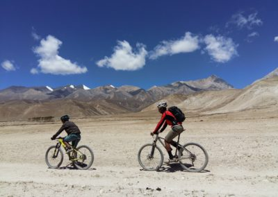There isn't too much flat in Upper Mustang