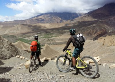 360 degree views abound in Upper Mustang