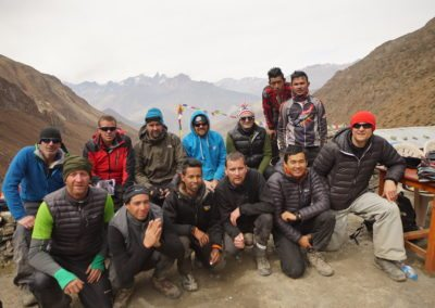 Team picture - Camp X Mountain bike training camp