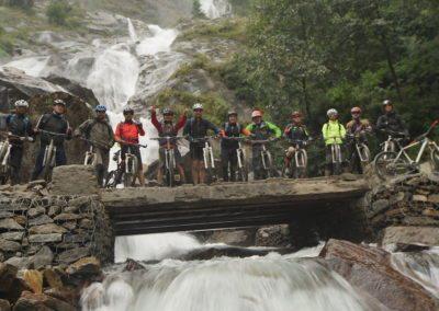Last waterfall before Tatopani hotsprings