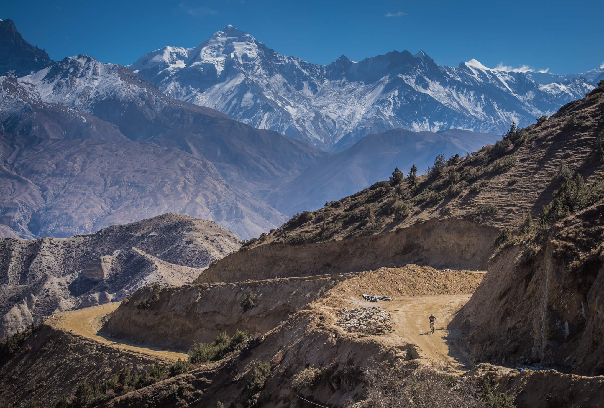 Small rider, big mountains. Yak Attack, the highest mountain bike race on earth