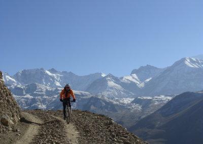 Mountain bike tour in Mustang
